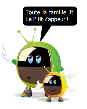 Toute la famille lit Le P'tit Zappeur !