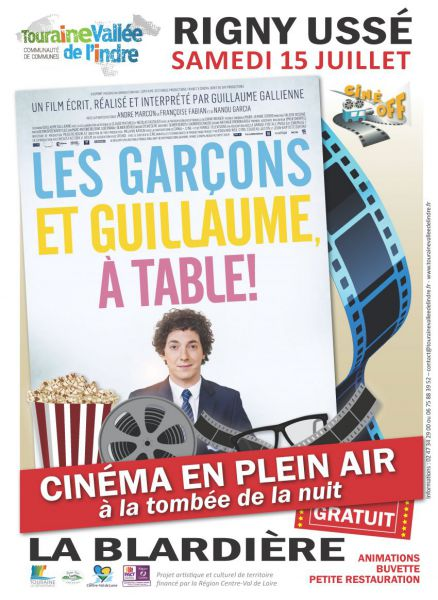 Les gar ons et guillaume table cin ma en plein air 1 - Film les garcons et guillaume a table ...