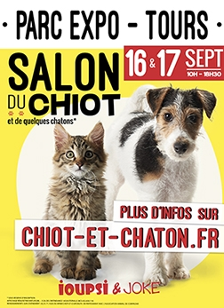 Salon du chiot le p 39 tit zappeur for Salon du chiot reze 2017